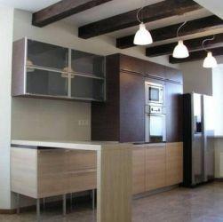 Кухня из шпона 5