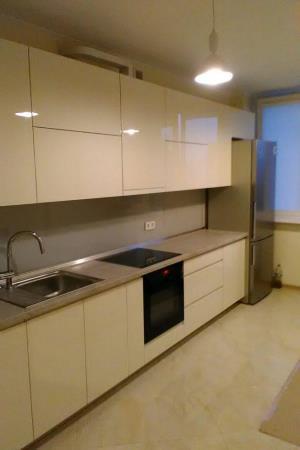 Пример кухни с фасадом МДФ крашеным №2 от ProfiМебель